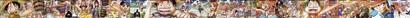 ワンピース 背表紙つながる超ロングイラスト01〜45号