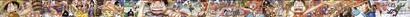 ワンピース 背表紙つながる超ロングイラスト01〜47号