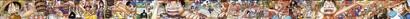 ワンピース 背表紙つながる超ロングイラスト01〜43号