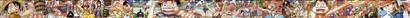 ワンピース 背表紙つながる超ロングイラスト01〜44号
